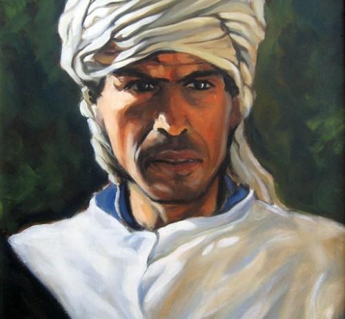 Ritratto di tunisino