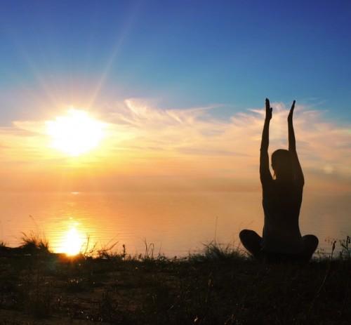 Posizione del saluto al Sole